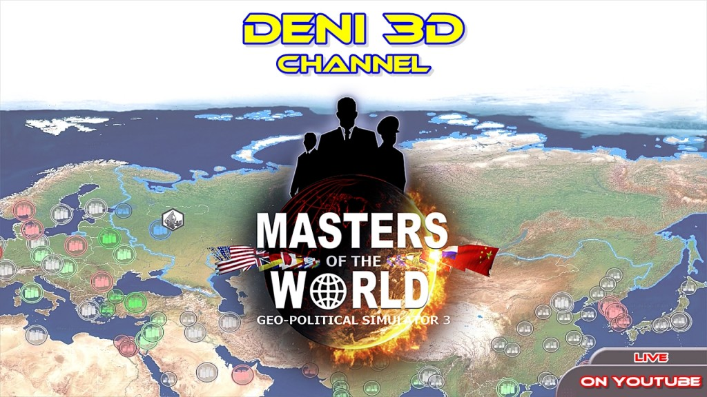 Masters of the World: Geo-Political Simulator 3